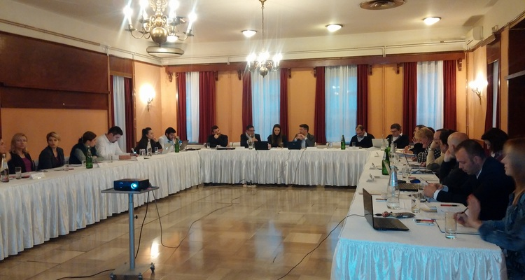 5th Steering Committee meeting held on 20th and 21st November 2014 in Kragujevac.
